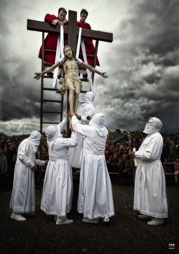 Desenclavamiento. Viernes Santo de la Semana Santa de Bercianos de Aliste