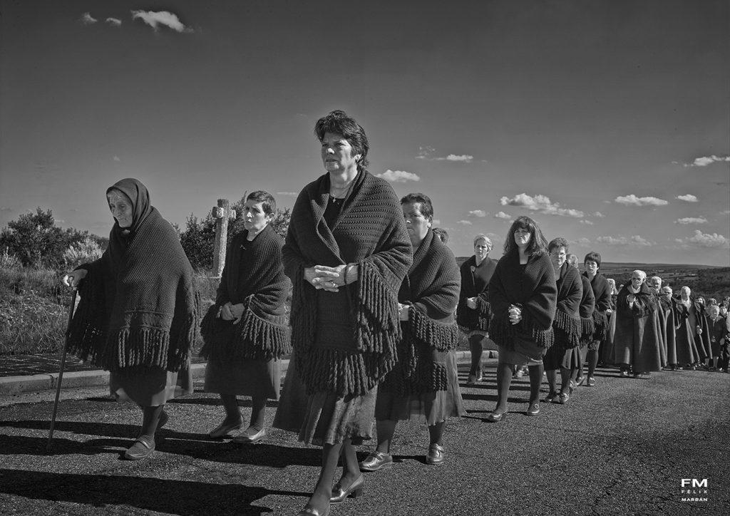 Mujeres cofrades de Bercianos de Aliste