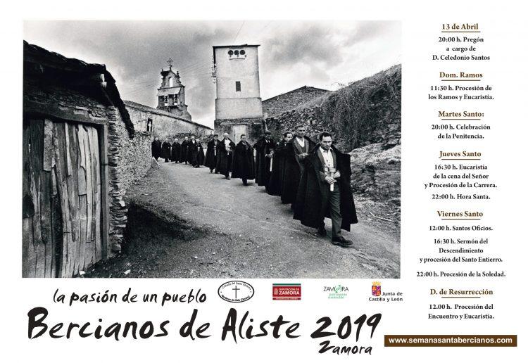 Cartel de Semana Santa de Bercianos de Aliste 2019