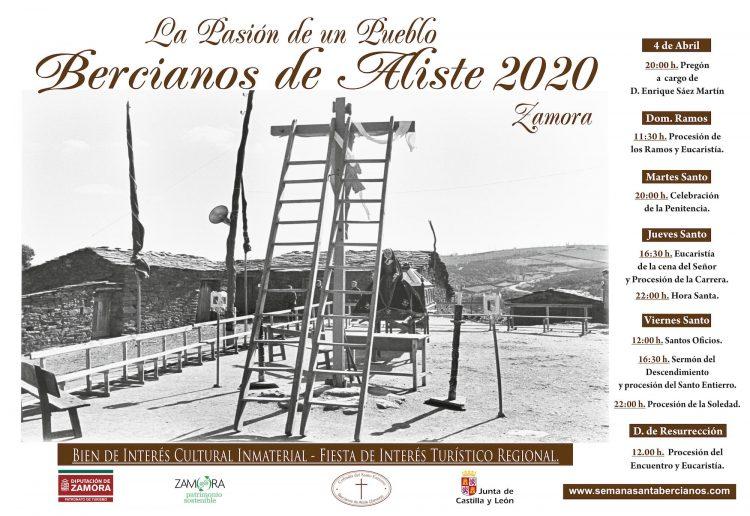 Cartel de la Semana Santa de Bercianos de Aliste 2019